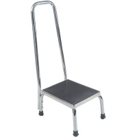 Foot Stool with Handrail