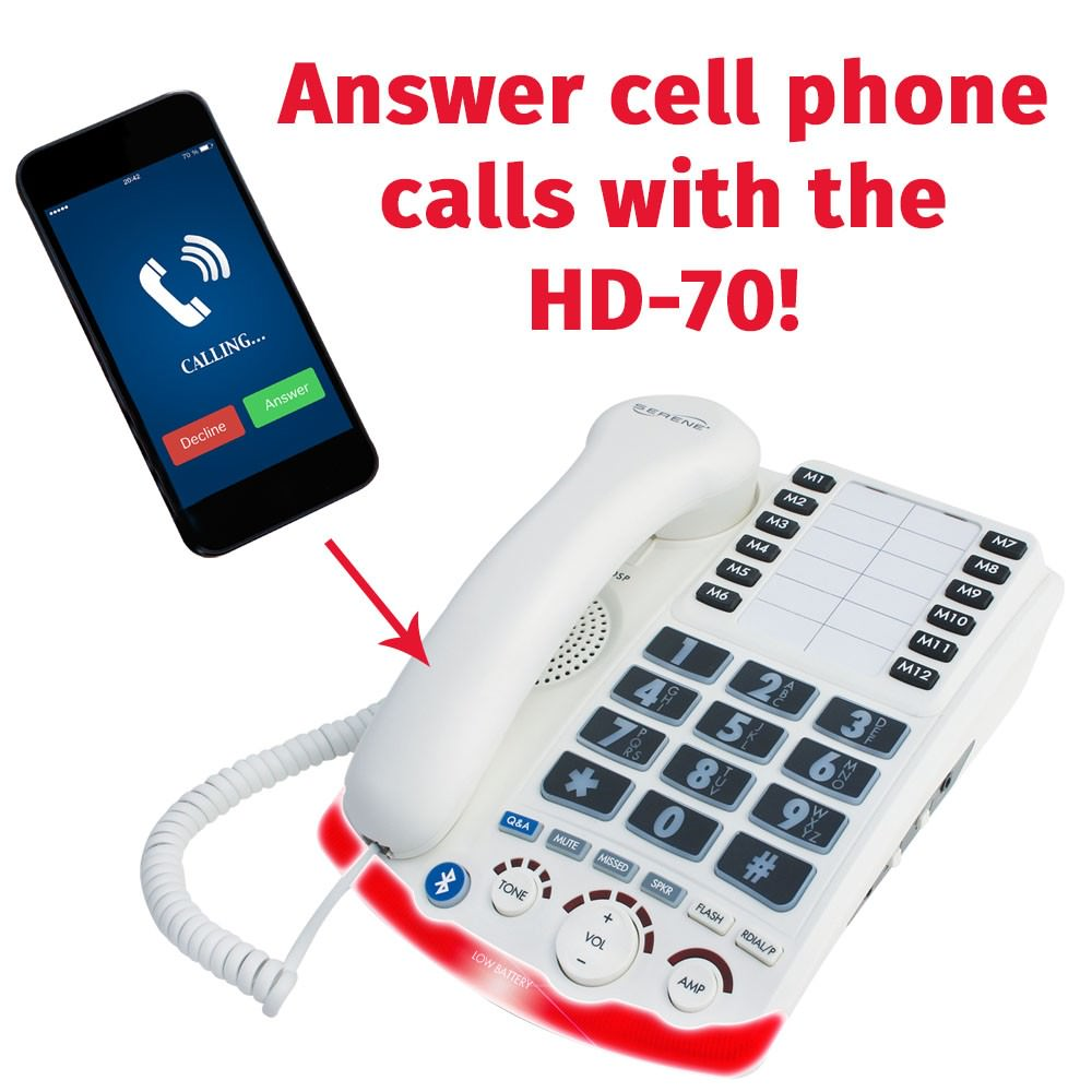Amplify Cell Phone Calls with the HD70
